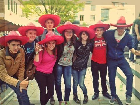 Tatai diákok Gerlingenben