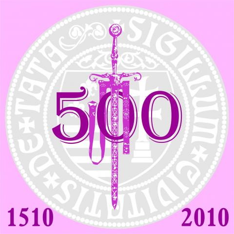 The official logo of the 500th anniversary