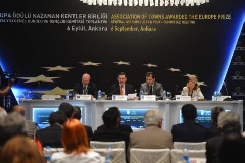 Az Európa Díjas Tata képviseletében – Ankarában