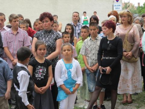 A legjobb magyarosokat ismerte el Tata önkormányzata a szőgyéni Csongrády Lajos Alapiskola tanévzáró ünnepségén