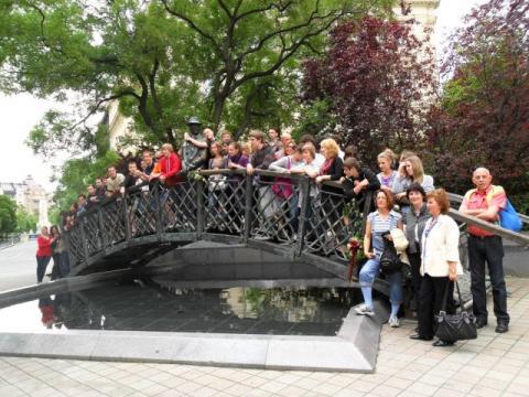 Nagy Imre statue Budapest